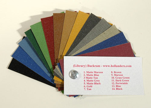 Sample Book Library Buckram