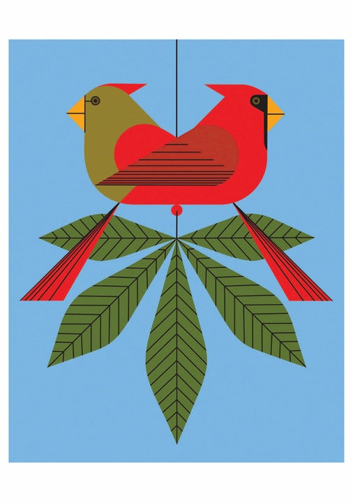 Boxed Cards Charley Harper Cardinals