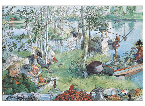 Boxed Cards Carl Larsson