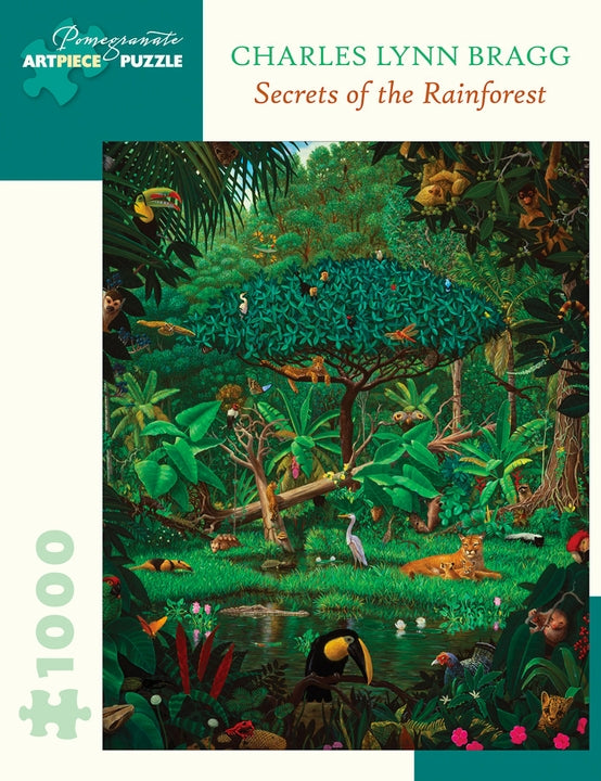 Jigsaw Puzzle Bragg Secrets of the Rainforest - 1000 Piece