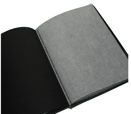 Text Block - Photo Album Large Portrait Black 30 Pages