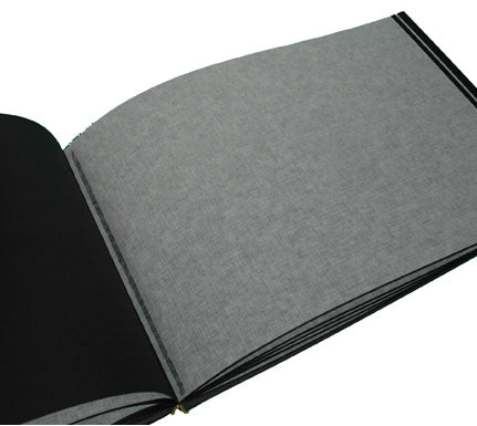 Text Block - Photo Album Lg Landscape Black 30 Pgs Set of  Five