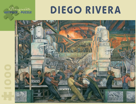 Jigsaw Puzzle Rivera Detroit Industry - 1000 Piece