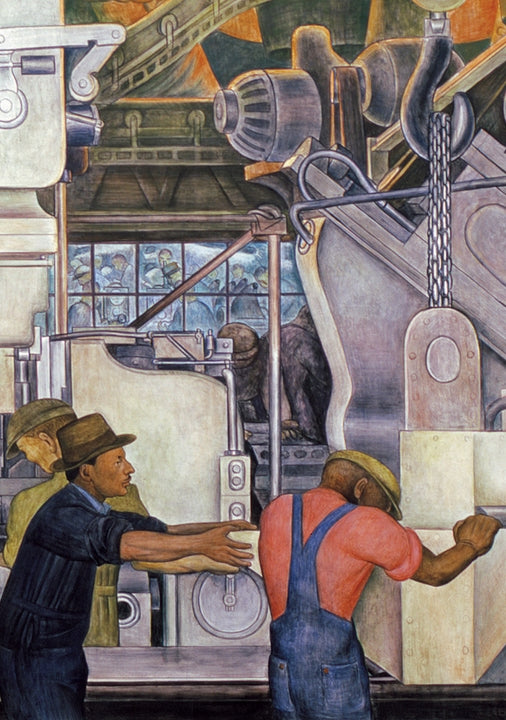 Boxed Cards Diego Rivera Detroit Industry Murals