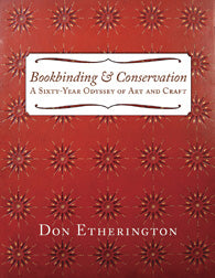 Book - Bookbinding & Conservation,  Don Etherington