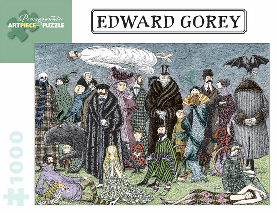 Jigsaw Puzzle Gorey Untitled - 1000 Piece