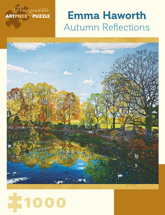 Jigsaw Puzzle Haworth Autumn Reflections - 1000 Piece