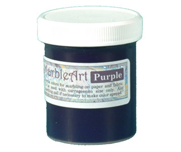 Marbling Ink Purple
