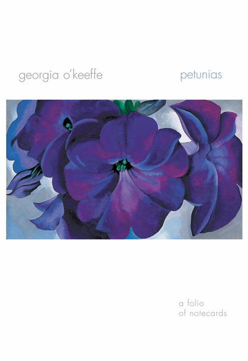 Note Card Folio Georgia O'Keeffe Petunias