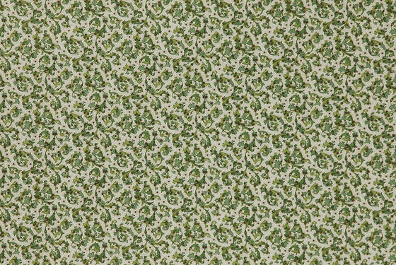 Florentine Print Traditional Green