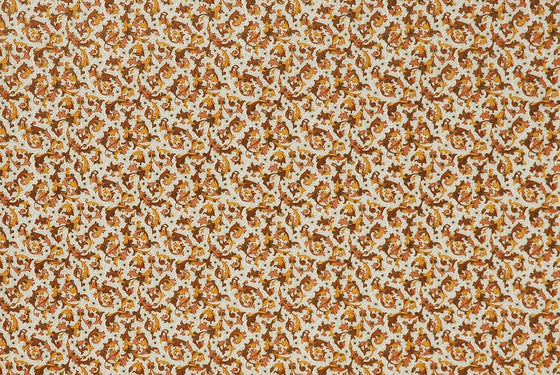 Florentine Print Traditional Brown