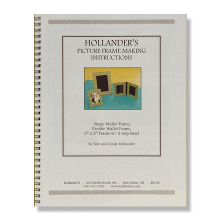 Booklet - Picture Frames Instruction