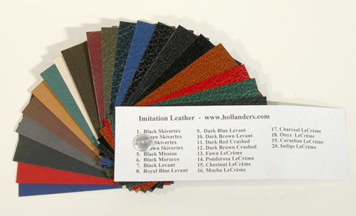 Sample Book Imitation Leather