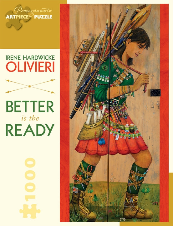 Jigsaw Puzzle Olivieri Better is the Ready - 1000 Piece