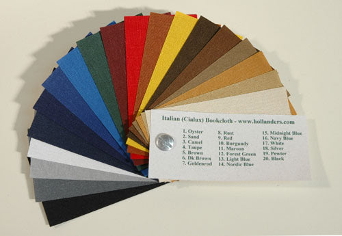 Sample Book Italian Bookcloth