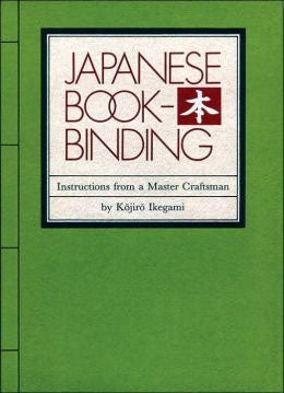 Book - Japanese Bookbinding, Ikegami