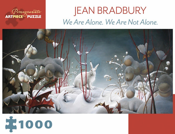Jigsaw Puzzle Bradbury We Are Alone. We Are Not Alone. - 1000 Piece