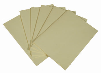 Unsewn Signatures - Large Blank CREAM Pages (24)