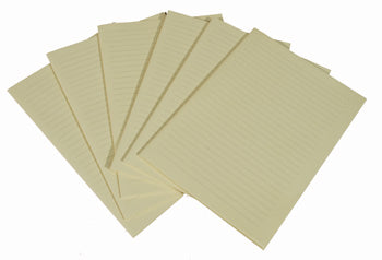 Unsewn Signatures - Large Lined CREAM Pages (6)