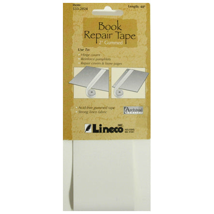Tape Book Repair 2 inches