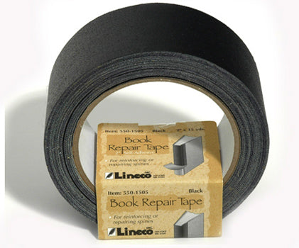 Tape Book Repair Black