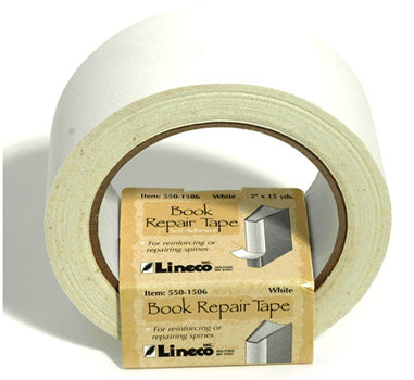 Tape Book Repair  White