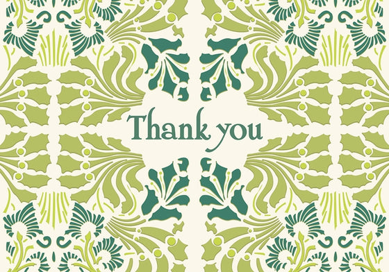 Small Boxed Thank You Cards Sullivan Greens