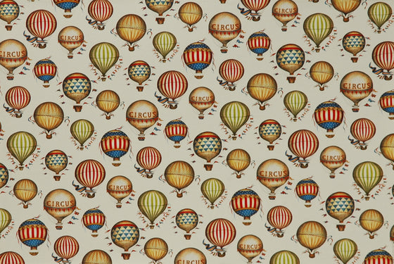 Florentine Print Hot Air Balloons