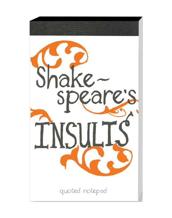 Notepad Shakespeare's Insults