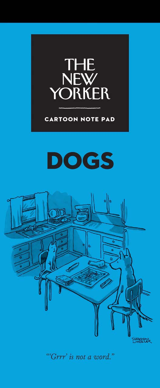 Notepad New Yorker Dogs