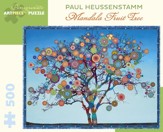 Jigsaw Puzzle Heussenstamm Mandala Fruit Tree - 500 Piece