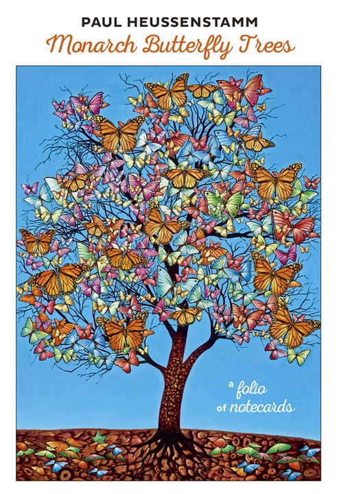 Note Card Folio Heussenstamm Monarch Butterfly Trees