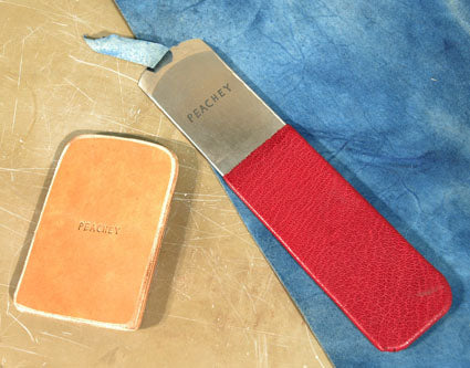 Knife Leather Paring - Peachey Swiss
