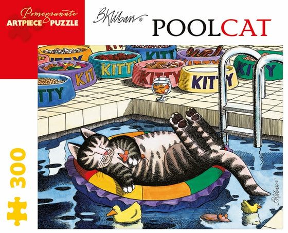 Jigsaw Puzzle Kliban PoolCat - 300 Piece