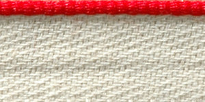 Headband Red Cotton Solid
