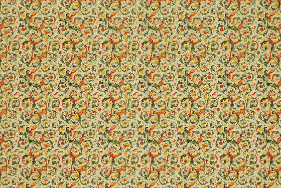Florentine Print Traditional Multi-Color