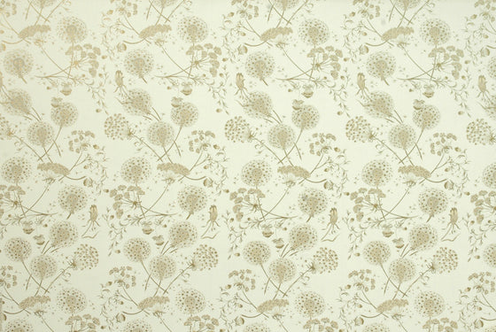 Florentine Print Dandelion Gold on Cream