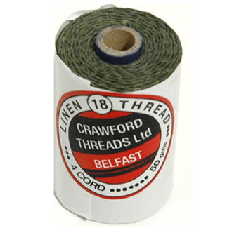 Waxed Thread Dark Emerald