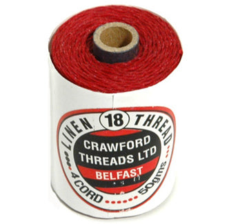 Waxed Thread Country Red