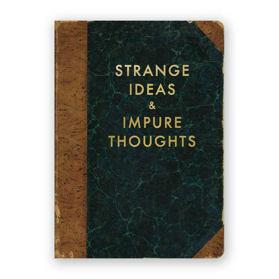 Journal Medium Strange Ideas and Impure Thoughts