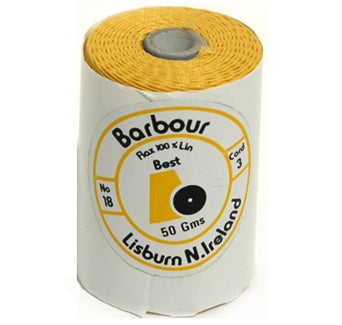 Linen Thread Yellow - Unwaxed