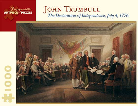 Jigsaw Puzzle Trumbull Declaration of Independence - 1000 Piece