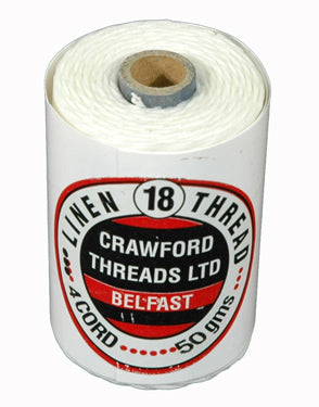 Waxed Thread White