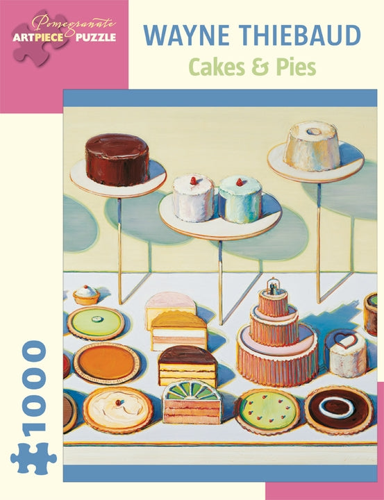 Jigsaw Puzzle Thiebaud Cakes & Pies - 1000 Piece