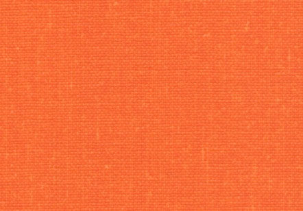 Starched Linen Bookcloth Orange Pulp (Pearl)