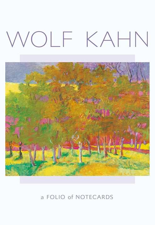 Note Card Folio Wolf Kahn