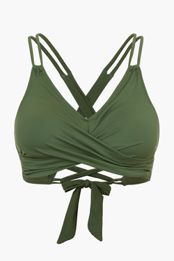 Green Molded Cup Bikini Top