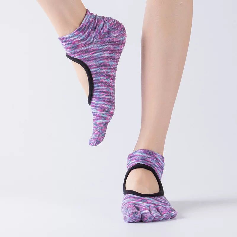 Full-toe Yoga Grip Socks