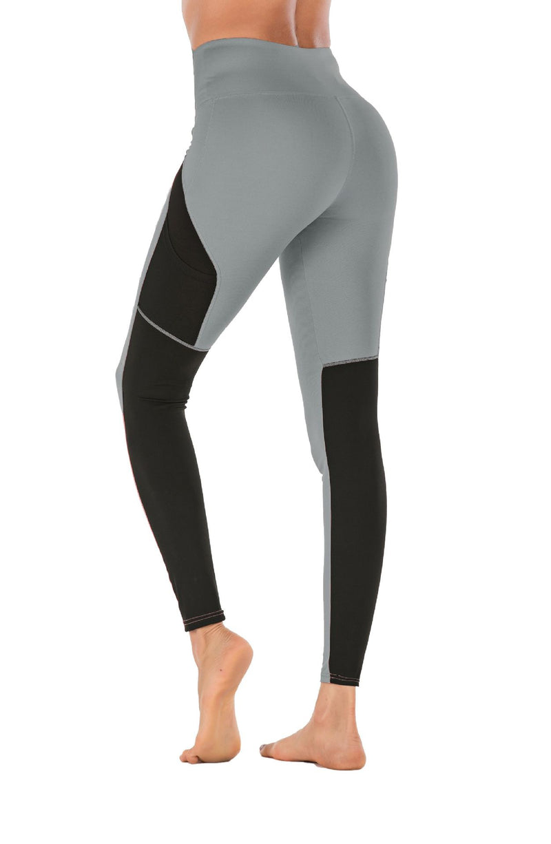 Two-tone Compression Yoga Pants