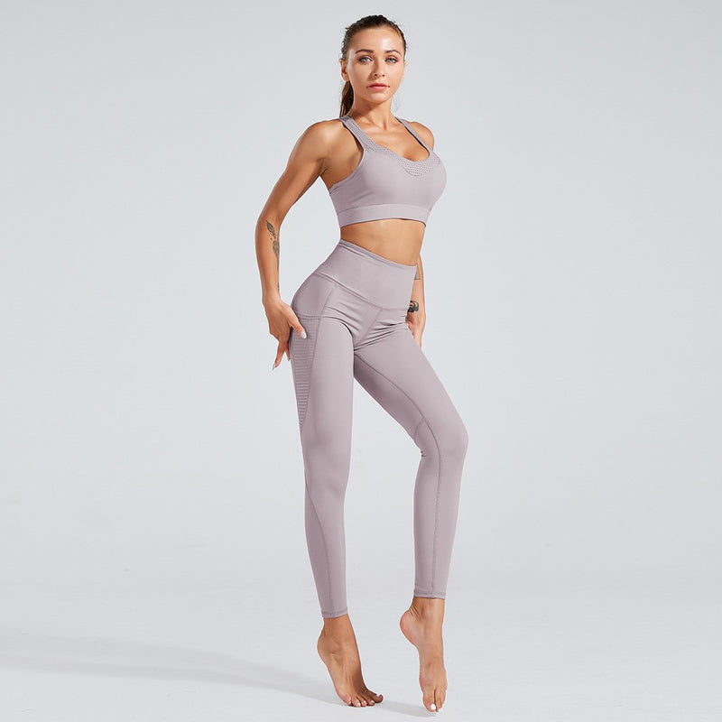 Breathable Yoga Set-2 PCS